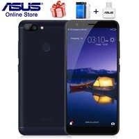 オリジナル Asus の Zenfone 5 最大プラス M1 携帯電話 5.7 インチ 18:9 フルスクリーン ZB570TL 4 3g スマートフォン 4 ギガバイト 32 ギガバイト ROM 3 スロット 16MP カメラ