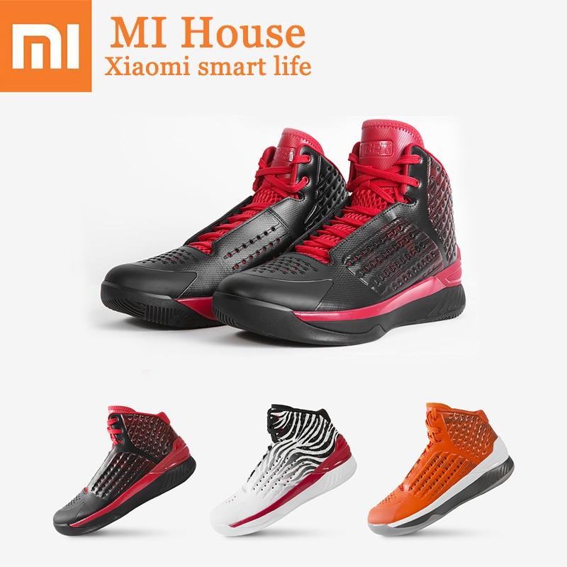 882f99a7 Xiaomi HYBER Прохладный баскетбольные кеды Высокая помощь микрофибра  дышащие кроссовки сапоги амортизация одежда мужская обувь купить на  AliExpress
