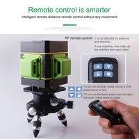 Fukuda 3D 12 линий зеленый лазерный уровень с бесплатной подъемной платформой вертикальный и горизонтальный лазерный уровень самонивелирующий