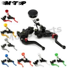 22MM  Brake Clutch Levers Master Cylinder Fluid Reservoir Adjustable CNC for Suzuki FXR150 1997-2003  RG150 RGV150 7/8 inch