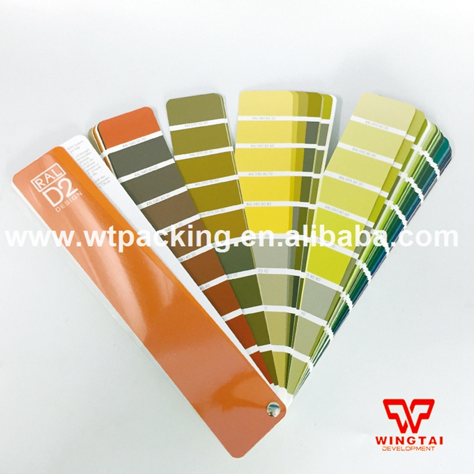 German RAL D2 Design Colour Chart Paint Color Guide With 1625 RAL Design colour цена и фото