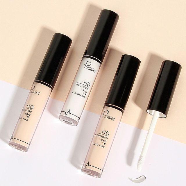 Pudaier Natural Primer Makeup Eyes Base Waterproof Cream  Under Shadow Cosmetic Eyeshadow Base Primer Makeup Moisturzing 2