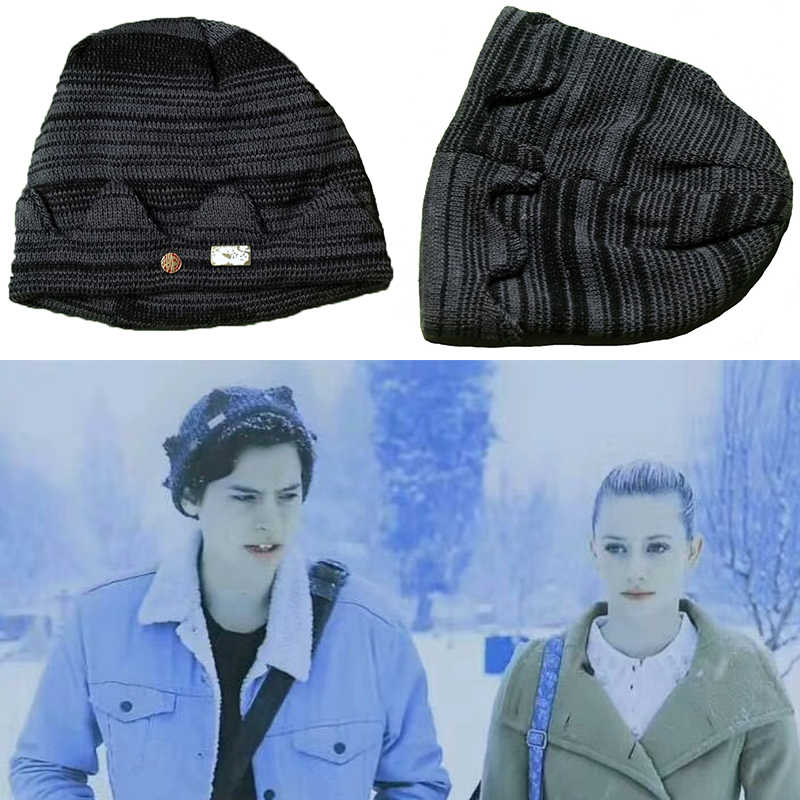Riverdale Cosplay Hats Beanie Cap Winter Knitted Embroidery Hat Archie Betty Veronica Women Men Adul