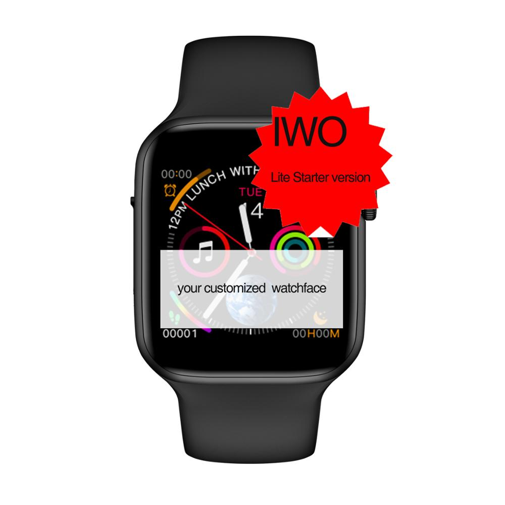 Smochm New <font><b>IWO</b></font> Lite Starter Wrist <font><b>Smart</b></font> <font><b>Watch</b></font> <font><b>IWO</b></font> <font><b>8</b></font> Updated Sports Smartwatch Bracelet <font><b>44MM</b></font> Series 4 Updated for Apple <font><b>Watch</b></font> image
