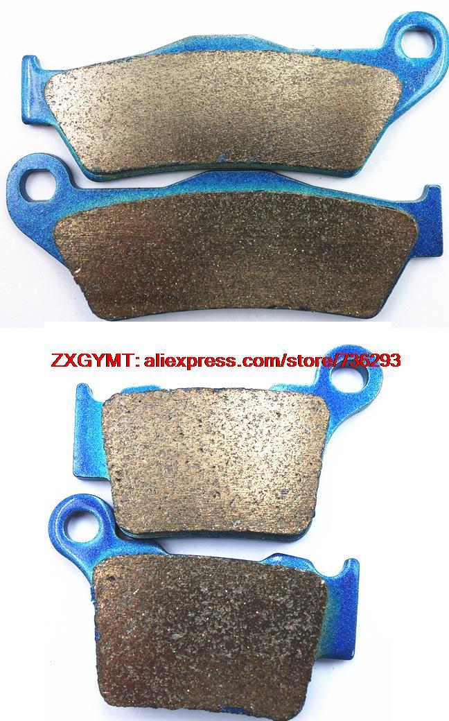 Sintering Motorcycle Disc Brake Pads Set for HUSQVARNA TE300 TE 300 2014 & up motorcycle disc brake pads fa473 fit for can am spyder rs ses 990cc 08 09 phantom black