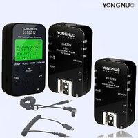 YONGNUO yn 622n tx Беспроводной TTL флэш триггер контроллер 1 трансиверы и 2 шт. yn 622n приемники для Nikon d750 D800 D5100 N1 n3