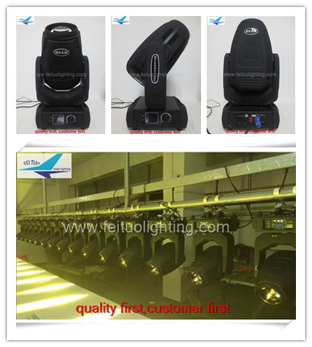 A- 4/lot factory direct sell 280w spot wash moving head Brightly sharpy beam 10R Moving Head 280W Lamp stage lights