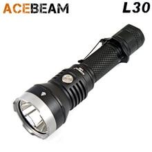 2017 nowy ACEBEAM L30 CREE XHP 70.2 Polowanie & Tactical latarka LED 4000 lumenów 20700 Baterii USB