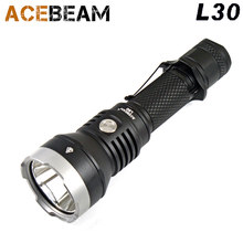 2017 new ACEBEAM L30 CREE XHP 70.2 LED 4000 lumens 20700 Battery USB Hunting &Tactical flashlight(China)