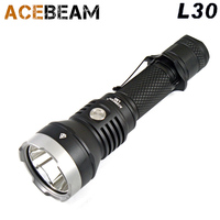 2017 new ACEBEAM L30 CREE XHP 70.2 LED 4000 lumens 20700 Battery USB Hunting &Tactical flashlight