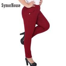 Горячий Новый Для женщин повседневные штаны капри плюс Bigsize 6XL женские узкие стрейч Демисезонный Тонкий узкие брюки/Капри Женщины