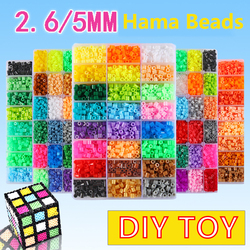 4800-24000Pcs/Box 2.6-5mm Hama Beads 48 Colors For Kids Education DIY Toys High Quality Guarantee Perler Beads Craft Puzzles