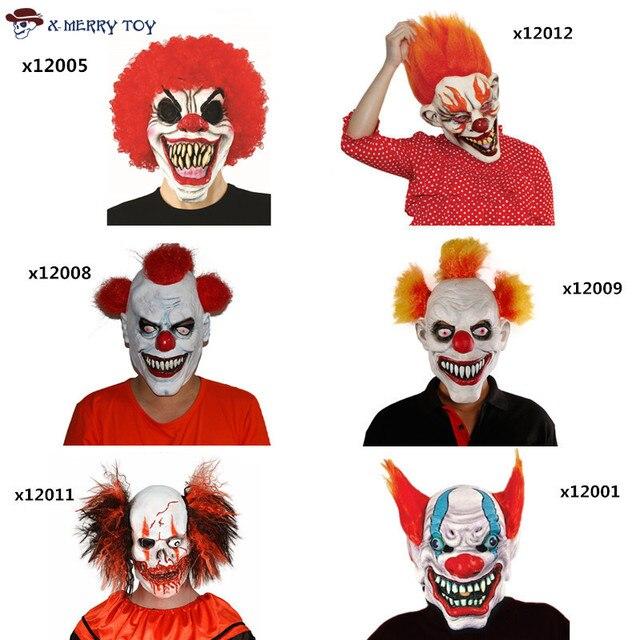 X Frohe Spielzeug Freies Verschiffen Joker Clown Kostüm Maske ...