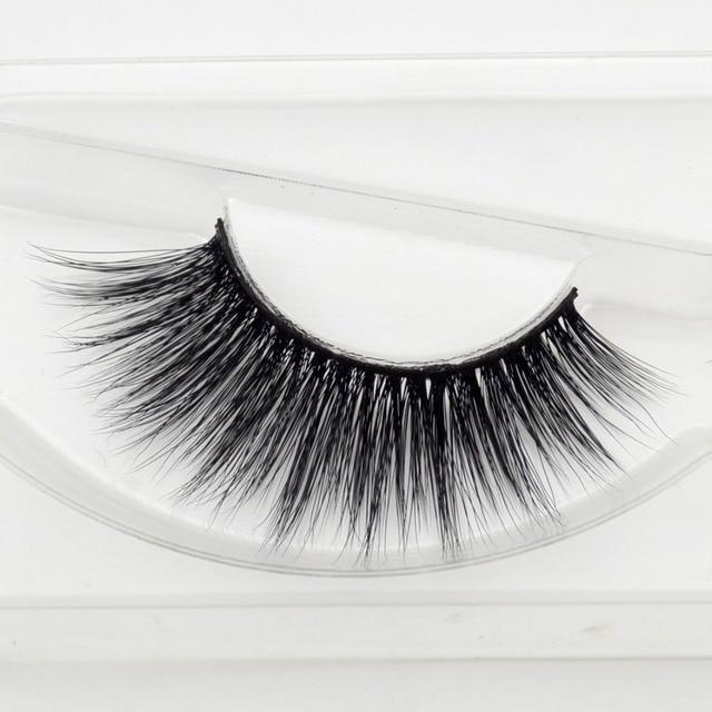 1 pair Bridget mink eyelashes 3D MINK False Eyelashes Hand Made Full Strip Lashes Fake Eye Lashes Professional Makeup Lashes 2