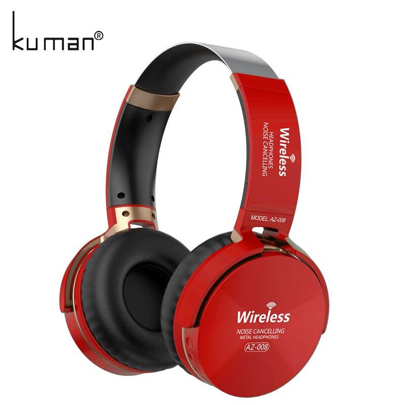 Kuman Sport Casques Stéréo Sans Fil Casque HIFI Bluetooth Écouteurs avec 3.5mm Ligne de Conversion Pour Téléphone PC Gaming YL-HH3