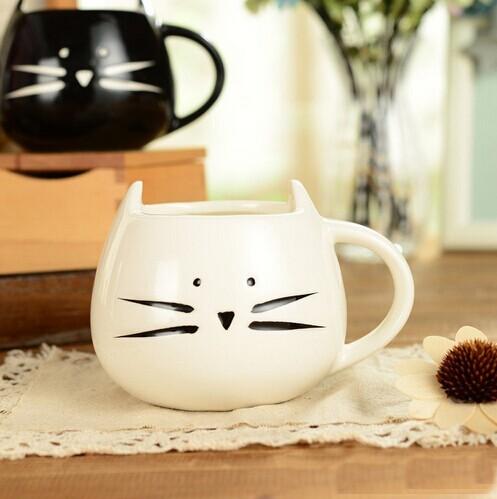 Caldo Bello di disegno del gatto Tazza di Caffè, ceramica Tazza di tè tazza di latte tazza