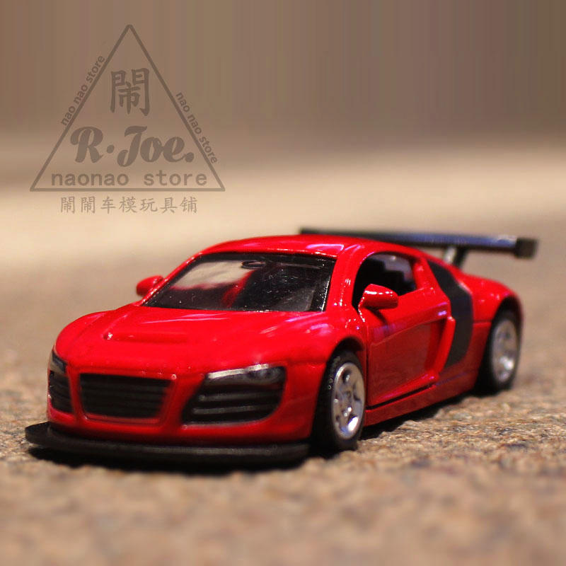 1:64 Alloy Car Model Sports Car Series Audi R8 Children