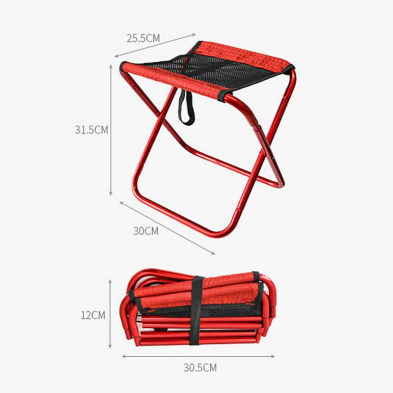 Открытый складной стул Сверхлегкий, портативный складной рюкзак рыбалка кемпинг Оксфорд ткань алюминиевый сплав для пикника рыбалка стул