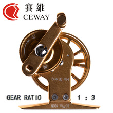 Winter Reel HP-45 CEWAY All Metal Fish Coil Fly Fishing Reels Material Tackle Equipment Ice Fishing Reel NEW 2017 FREE SHIPPING