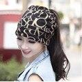 Nueva Marca de Corea Del Hip-Hop Sombrero y Bufanda de Las Mujeres de Punto Skullies Sombrero de la Señora Carta Gorro Touca Piles Cap Gorros Moda de Las Mujeres del Sombrero