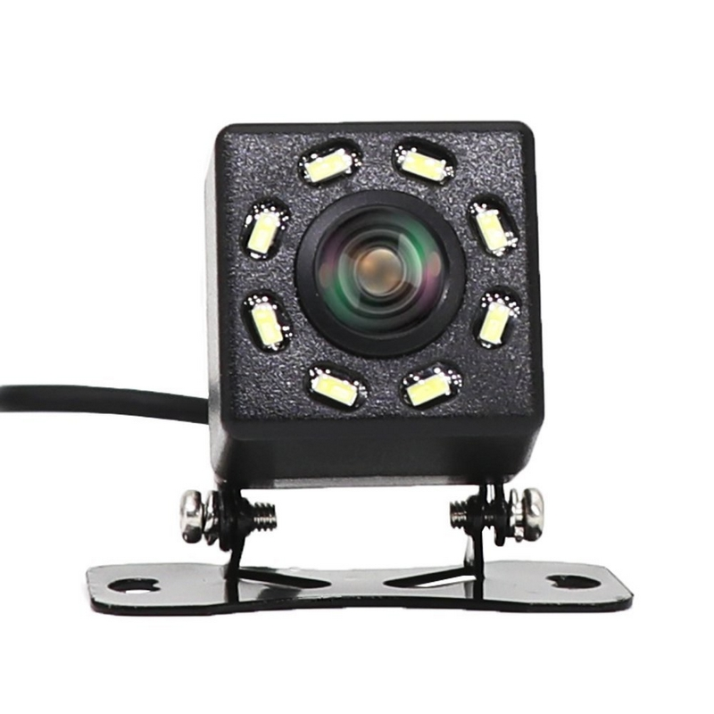 8 LED Lights Car Rear View Camera Night Vision 170 Degree Waterproof Car Dash Camera Auto Reverse Parking Vehicle Camera-in Vehicle Camera from Automobiles & Motorcycles
