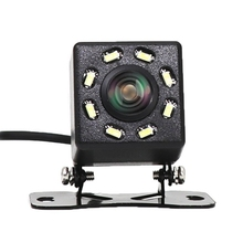 8 Led ライト車のリアビューカメラのナイトビジョン 170 度防水車のダッシュカメラオートリバース駐車車両カメラ