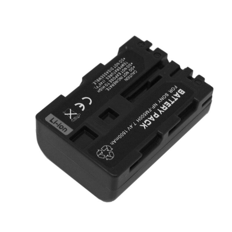 1500mAh for sony NP-FM500H Camera Battery a550 a550 a560 a580 a900 7.4V Camcorder A900/A700/A550/A500/A580/A560/A450/A350/A300