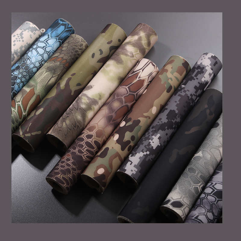 2016  Elastic  Self Adhesive Camouflage Tape Kryptek  Camo 30CM*150cm 19 Optional Colors For Tactical Camouflage