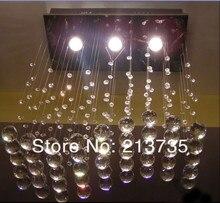Горячий продавать бесплатная доставка 2015 новый дизайн Топ кристалл K9 низкого напряжения люстра свет также для оптового L500 * W200 * H600mm