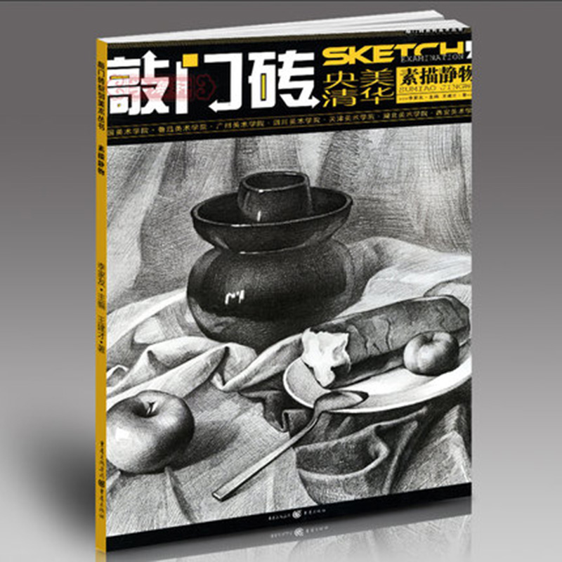 Sketch Still Life Sketch Book Entry Basic Tutorial Details Explain Art College Entrance Examination Self-study Textbooks