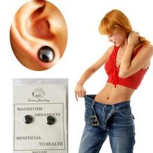 1 Pair Healthy Stimulating Acupoints Stud Earring Bio Magnetic Therapy font b Weight b font font