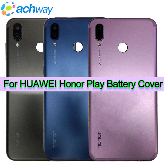 huge discount 4d5e0 289ec US $19.99 |Huawei Honor Play Back Battery Cover Rear Door Housing Honor  Play Case Replacement Parts Huawei Honor Play Battery Cover Door-in Mobile  ...
