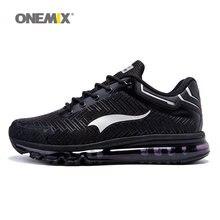 ONEMIX hombre zapatillas de correr para hombre buen cojín Shox entrenadores deportivos zapatos deportivos Max negro transpirable caminar al aire libre zapatillas de deporte 7