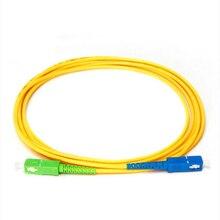 10 ピース/バッグ SM シンプレックス光ファイバジャンパーケーブル SC/APC SC/UPC パッチコードシングルモードシンプレックス 1310nm 安い価格