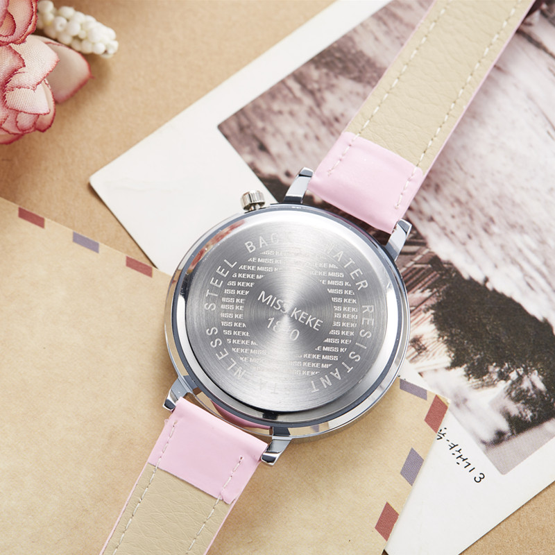 Relojes Mujer Miss Keke 3d Clay Leuke Mini Wereld Strass Horloges - Dameshorloges - Foto 5