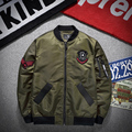 Timmiury Men New Bomber Jackets Embrodiery Military Army Green/Black 2017 Windbreaker Spirng Jackets M-3XL Casaco Masculino