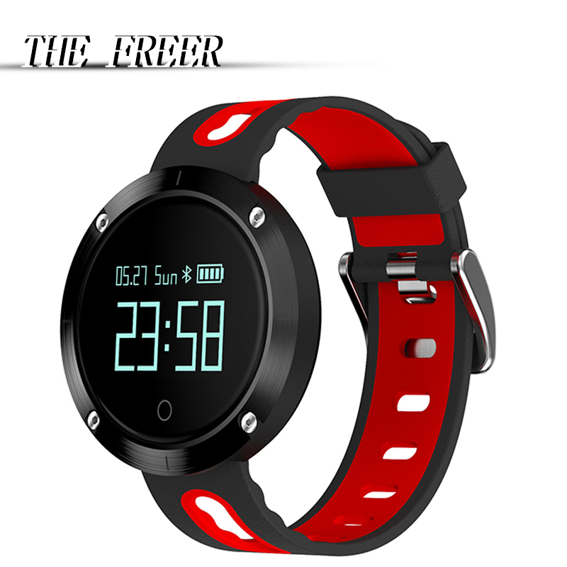 DM58 Women Men digital Watch Sport Bluetooth Smart Bracelet Blood Pressure Heart Rate Monitor IP68 waterproof wristwatches цены