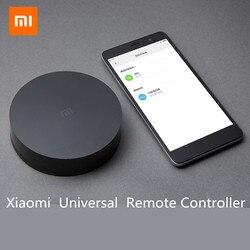 Оригинальный Xiaomi mi Универсальный Интеллектуальный смарт-пульт дистанционного управления WI-FI + ИК выключатель 360 градусов умный дом автомат...