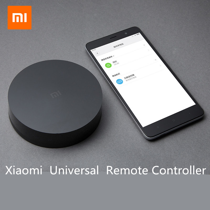Original Xiaomi Mi Universal Intelligent Smart Remote Controller WIFI+IR Switch 360degree Smart Home Automation Mi smart sensor new ltech wifi ir rf universal intelligent remote smart home automation control for iphone ios android xiaolei wifi remote
