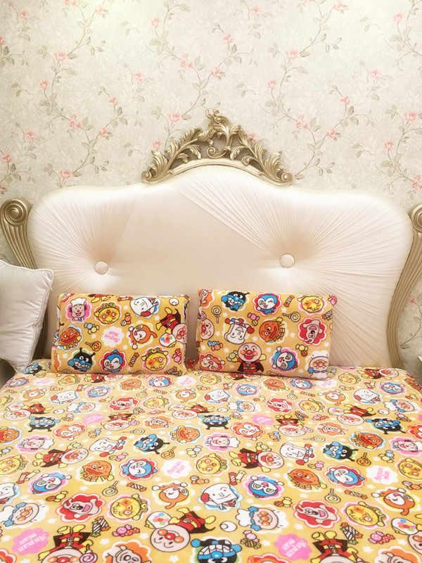 Dibujos Animados Anpanman felpa juguetes suave funda de almohada aire acondicionado manta creativo cumpleaños navidad regalo #1048