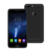 Genephone G1 4กรัมLTEหุ่นยนต์7.0มาร์ทโฟน5.5นิ้วปลดล็อคโทรศัพท์มือถือQuad Core 3กิกะไบต์32กิกะไบต์C Elular DualกลับCamsลา...