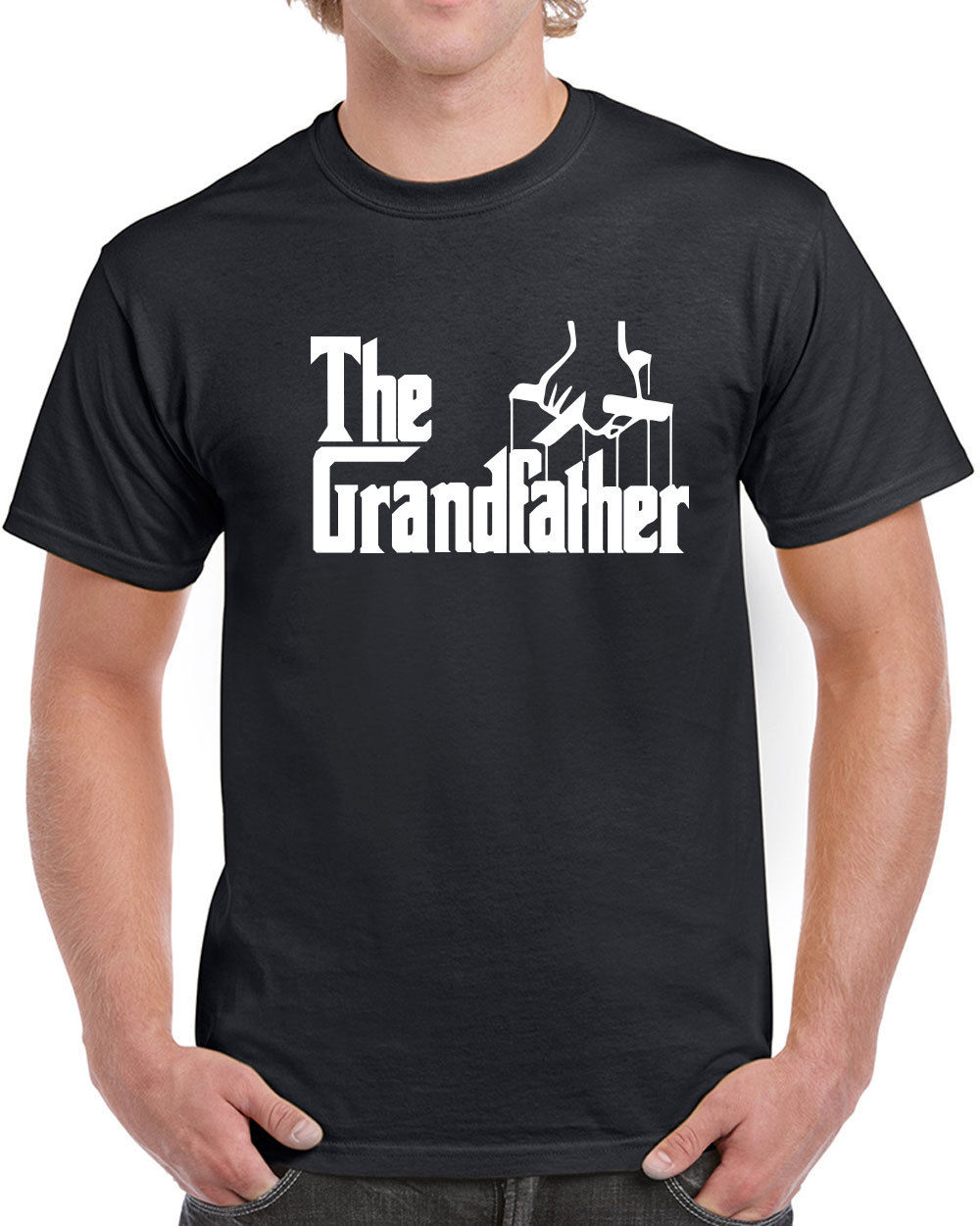 396 The Grandfather mens T-shirt funny gift fathers day grandpa present vintage