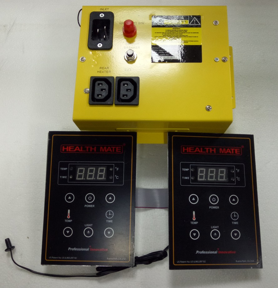Far infrared sauna room controller 110V 240V