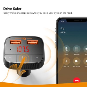 Image 4 - Anker Roav SmartCharge F0 Auto Ladegerät mit FM Transmitter Bluetooth Empfänger Bluetooth 4.2, 2 USB Ports, powerIQ AUX Ausgang