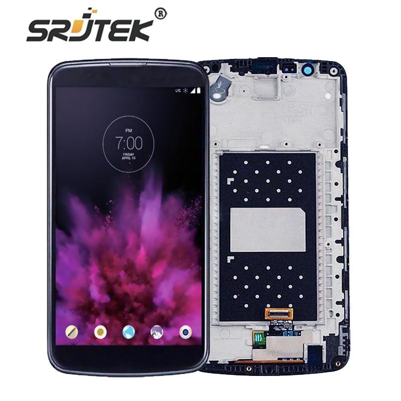 Srjtek For LG K10TV K10 TV K410TV K430TV <font><b>LCD</b></font> Display Touch Digitizer Glass+ Frame Full Assembly For LG K10 LTE K430DS/K410 K420n