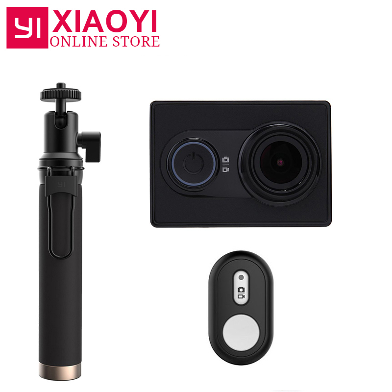 NEW Original Xiaomi YI Action Sports Caméra Xiaoyi WiFi Action Cam 3D Réduction Du Bruit 16MP 60FPS Ambarella Édition Internationale