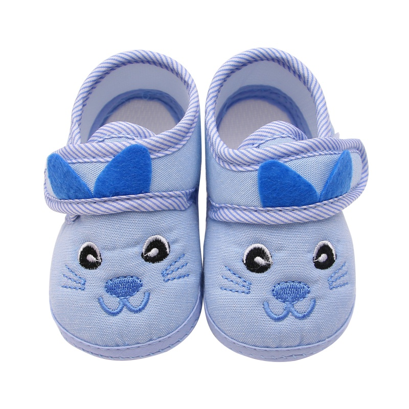 Baby Boys girs Kitten soft bottom anti-skid step shoes leisure Newborn Prewalker Toddler shoes