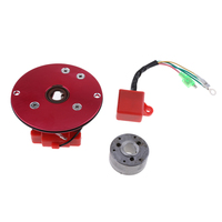 Performance Red Racing Magneto Stator Rotor Cdi Kit For 110 125 140cc Engine Lifan YX Pit Dirt Bike