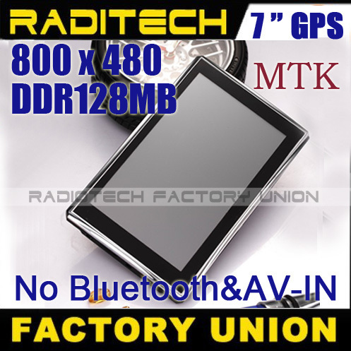 50% off!! 7 inch GPS navigation 4GB TF DDR 128 MB  FM Navitel IGO free maps GPS700307