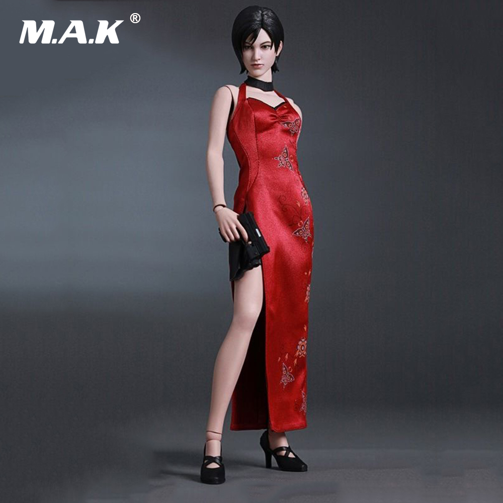 1/6 Scale Resident Evil 4 Ada Wong 12 Action Figure Game Ver. Colletible Model Toy ada staff 4
